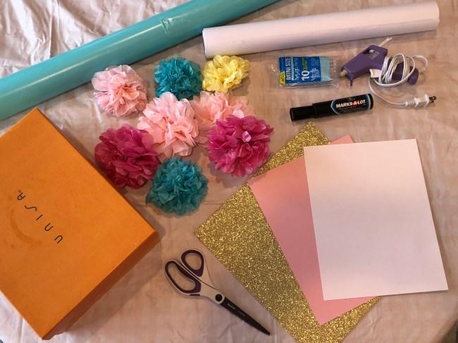 DIY Unicorn Gift Wrap | twoplusmeandyou.com