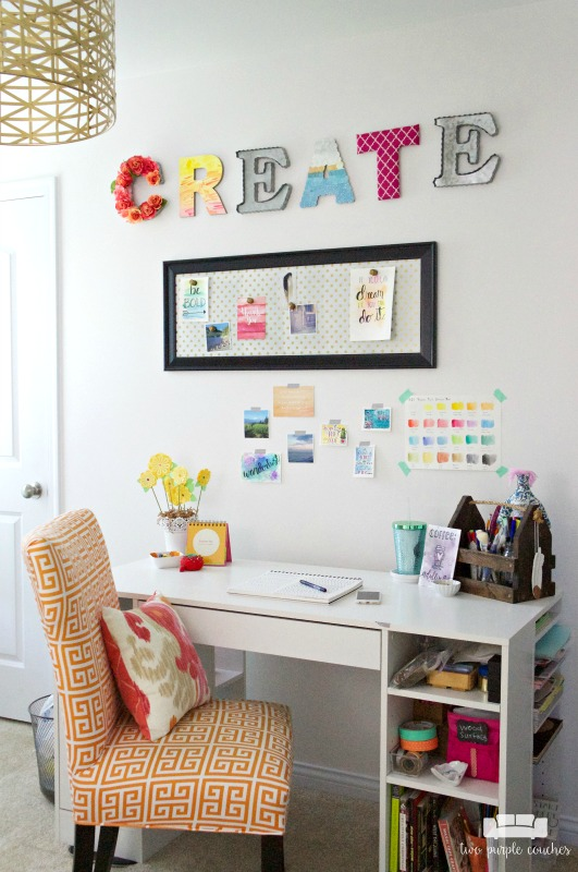 Spare Bedroom Turned Craft Room Room By Room Series