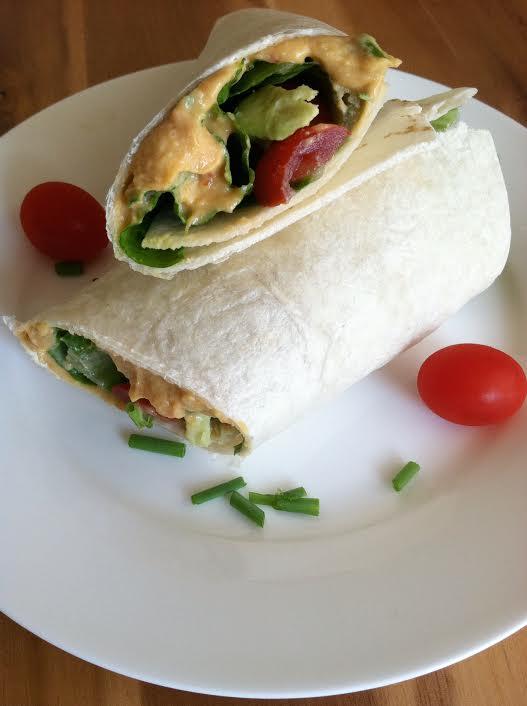healthy light vegan roll-up