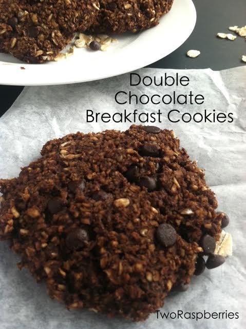 Double Chocolate Breakfast Cookies
