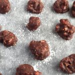 Salted Almond Chocolate Drops