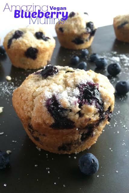 Amazing Blueberry Muffins