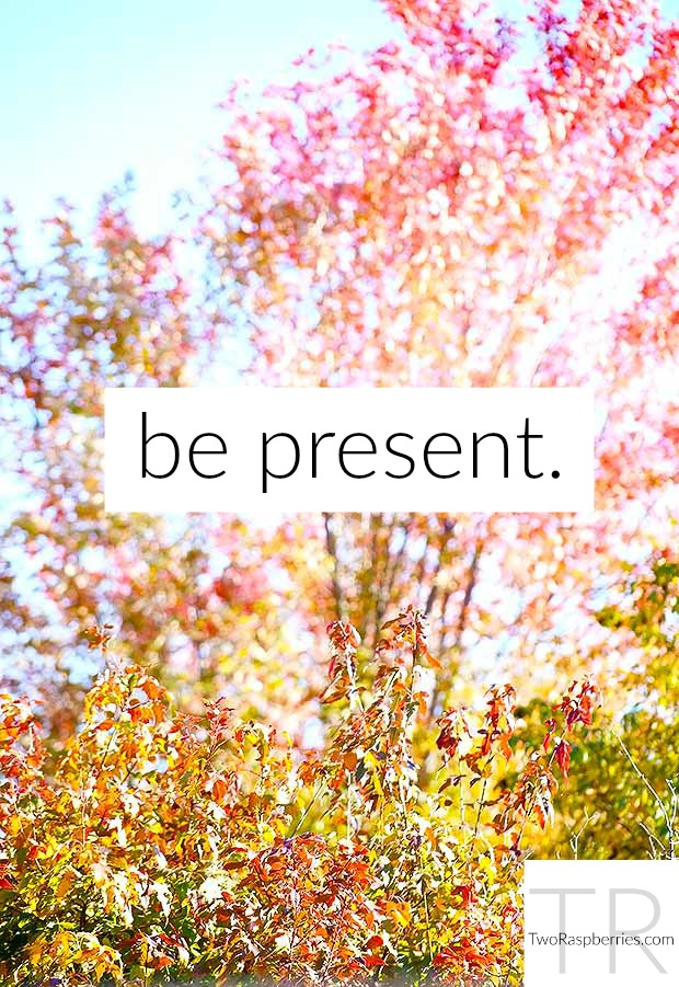 be present quote