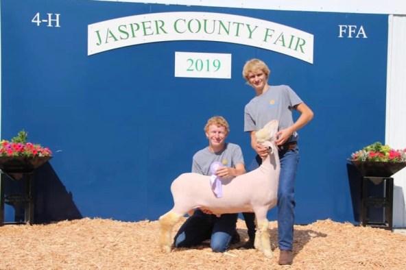 jasper county fair 2020