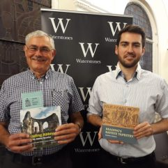 Reading Abbey and Reading's Bayeux Tapestry book signing