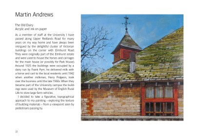 Martin Andrews, The Old Dairy