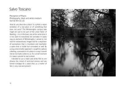 Salvo Toscano, Perception of Places