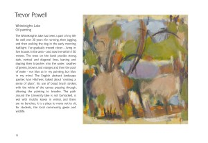 Trevor Powell, Whiteknights Lake