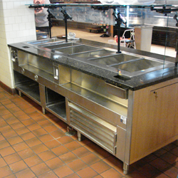 stainless steal counter