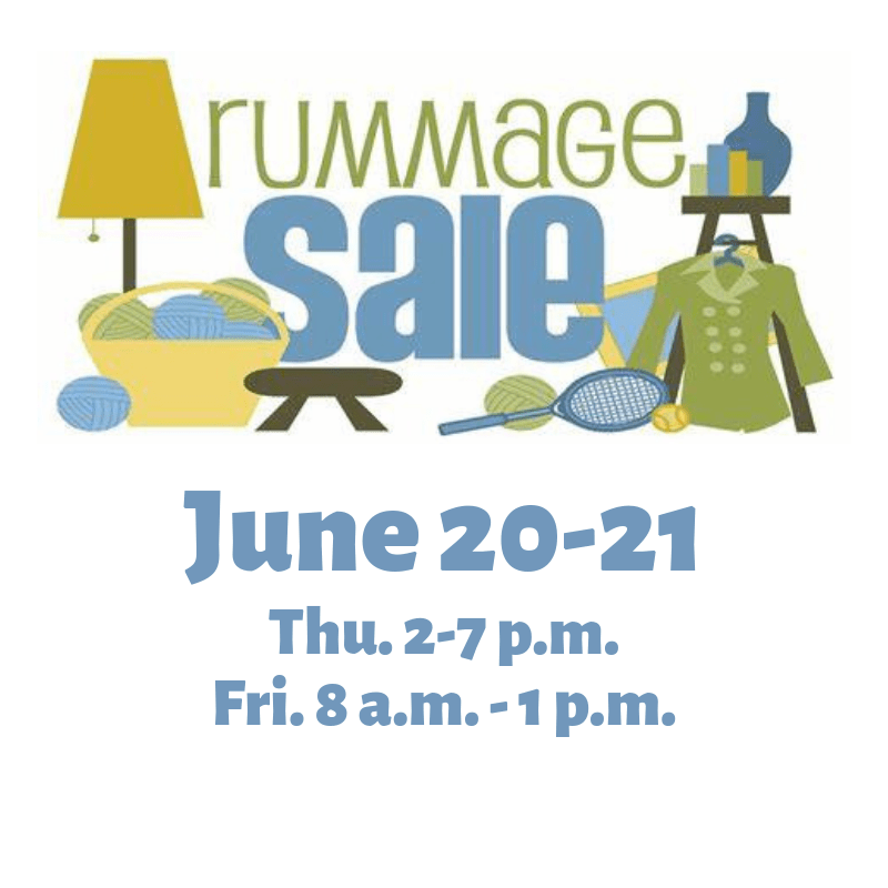 Rummage Sale | Two Rivers Church