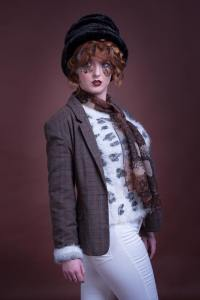 Autumn look created in our fashion styling course