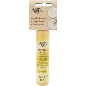Art-C Heavy Body Acrylic Metallic Paint - GOLD