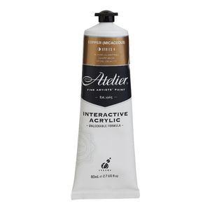 Atelier Interactive Artists Acrylic Paint 80ml- COPPER (MICACEOUS) Series 4
