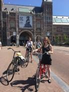 Cycling Amsterdam- Rijksmuseum