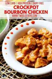 Crockpot Bourbon Chicken