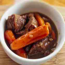 Instant Pot Beef stew goes together quickly for a hearty, comforting supper in under an hour.