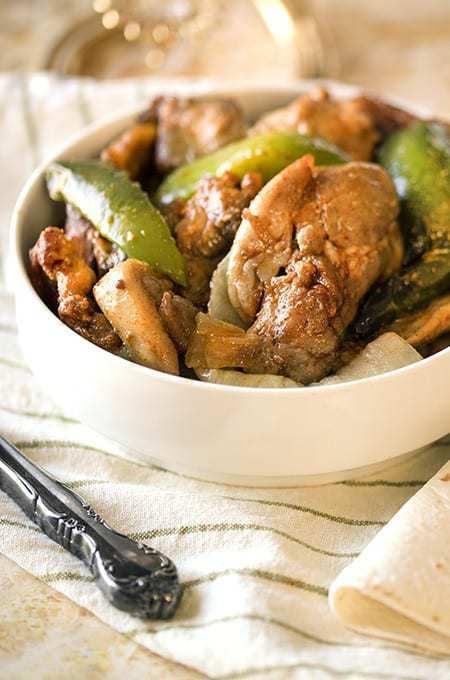Chicken Fajitasc