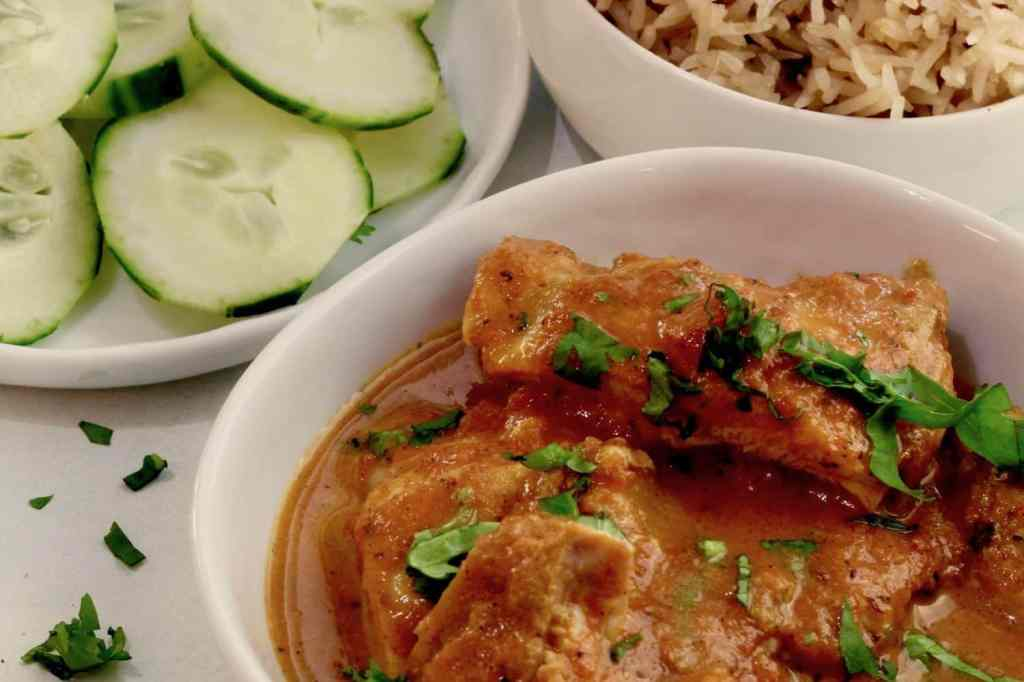 Butter Chicken Close up 1024x682 - Instant Pot Now and Later Keto Indian Butter Chicken - https://twosleevers.com