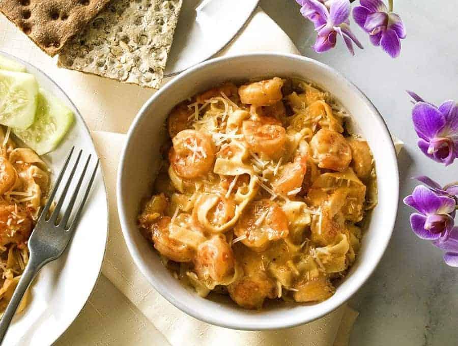 Low Carb Shrimp Scampi Easy Instant Pot Keto Recipe