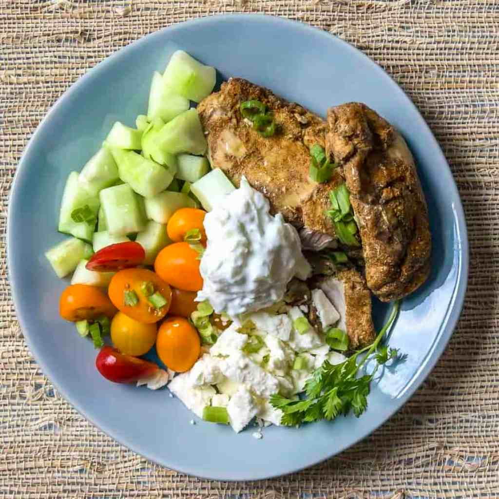 Best low carb chicken shawarma two sleevers this is the best chicken shawarma recipe to make at home with just a few spice forumfinder Gallery
