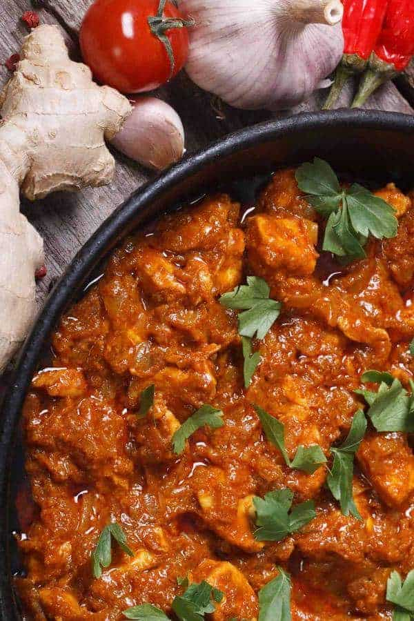 Instant Pot Low Carb Chicken Vindaloo