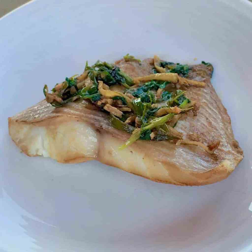 Ginger Scallion Fish 1024x1024 - Instant Pot Chinese Style Steamed Ginger Scallion Fish - https://twosleevers.com