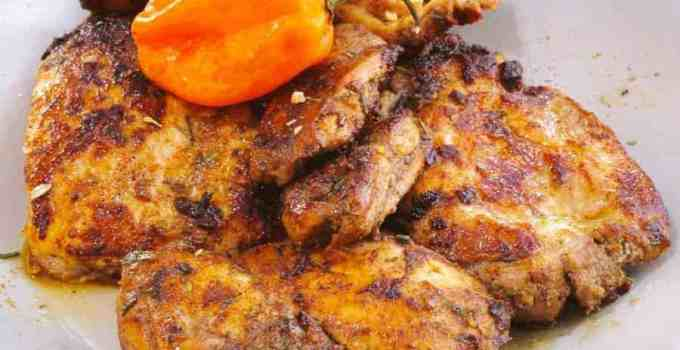 Keto Jamaican Jerk Chicken with The Spice House Jerk Seasoning Mix