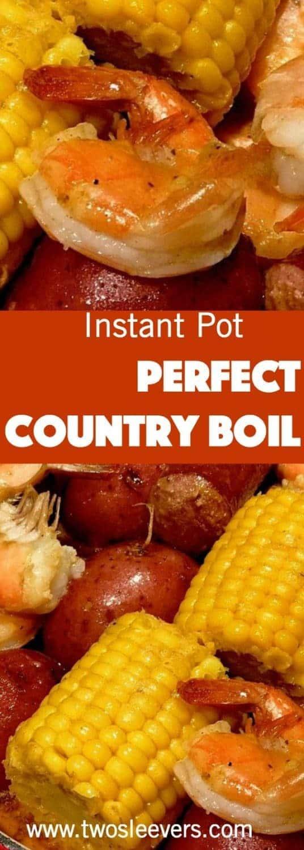Instant Pot Cajun Shrimp and Sausage Boil – Two Sleevers