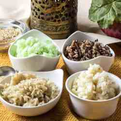 How to get perfect pressure cooker rice each time. No more over or undercooked rice, get perfect brown rice in your Instant Pot or Pressure Cooker.