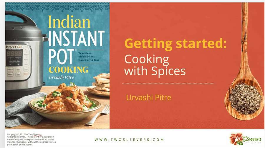 Free cooking with indian spices pdf two sleevers learn how to cook with a variety of indian spices forumfinder Choice Image