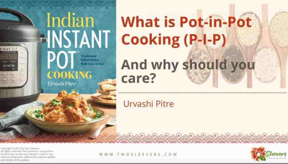 Free cooking with indian spices pdf two sleevers how to do pot in pot cooking in your pressure cooker pdf forumfinder Image collections
