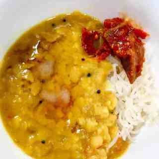Pressure Cooker Rice and Dal is Indian comfort food made easy. Once you learn how to make rice and dal at the same time in your Instant Pot, putting together a nutritious dinner will be easy as—well as dal and rice!