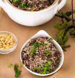 One Pot Lebanese Hashweh Ground Beef and Rice