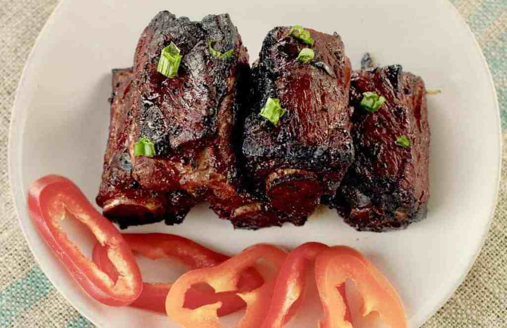 Air fryer Chinese style spareribs
