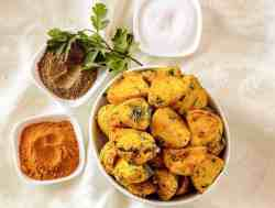 Air Fryer Indian Potatoes Amchoor Potatoes