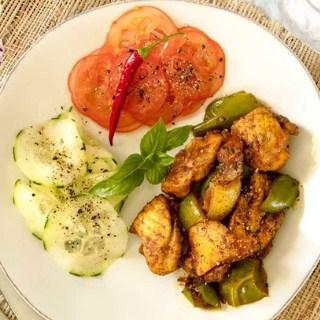 Chicken Jalfrezi | Air Fryer Recipe