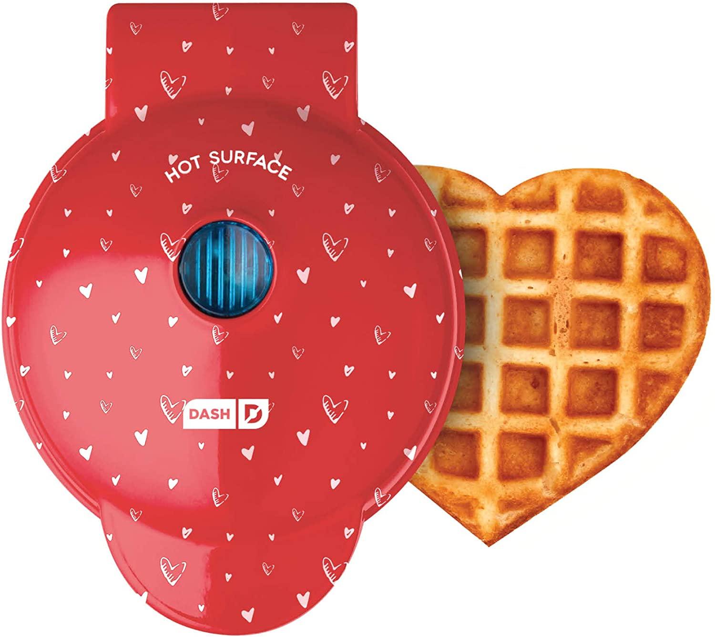 dash heart waffle maker
