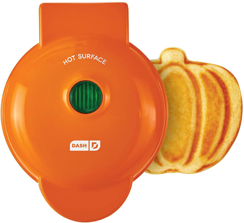 dash pumpkin waffle maker