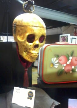 skulls and lunch boxes