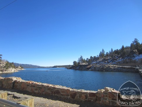 Big Bear Lake, from the dam