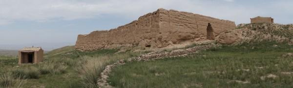 Fortress in Bianshui Village, Jingtai, Gansu