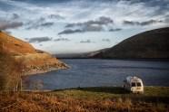 Overnight stop at Megget Reservoir