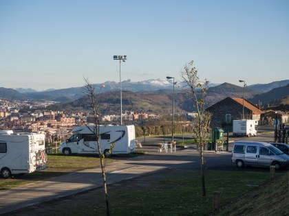 The aire at Bilbao