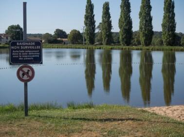 Bathing area