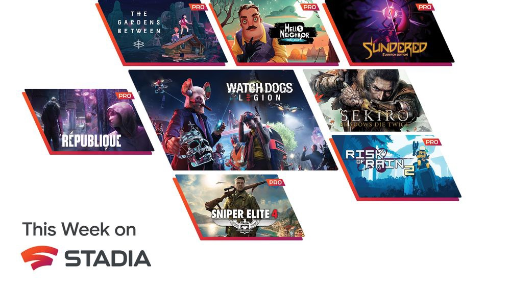 This Week on Stadia: Six more games free with Stadia Pro, plus more landing in the Stadia store