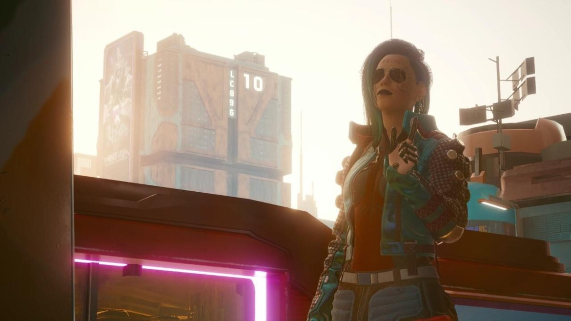 Cyberpunk –  After 90 hours of playing, I chose my favorite photos.