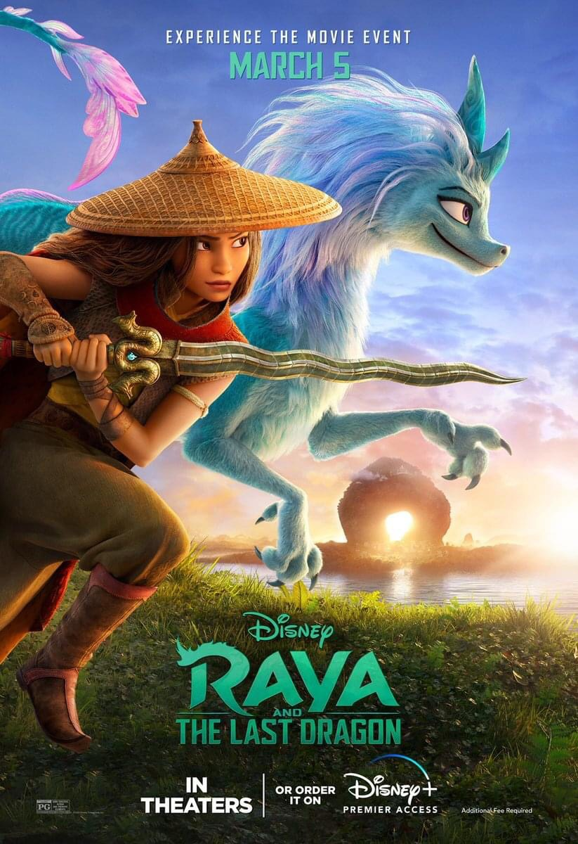 Check out the brand-new poster for Raya and the Last Dragon.Experience the movie event in theaters or order it on Disney+ with Premier Access March 5.