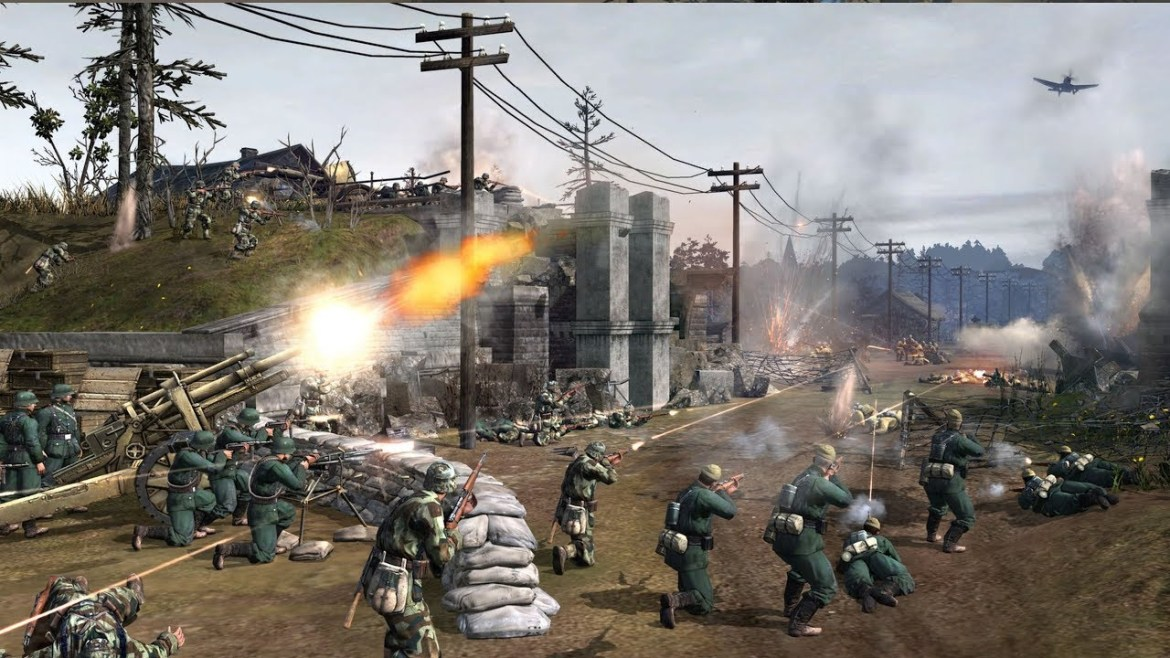 Company of Heroes 2 – Video game walkthrough. We come back to this game after many years.