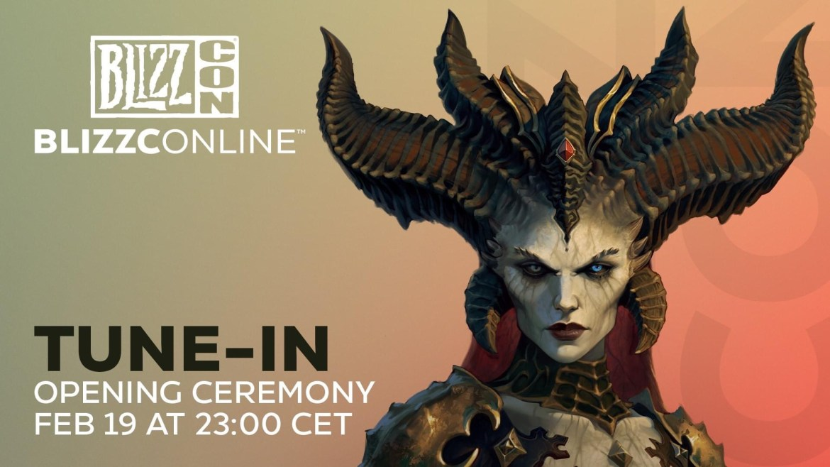 BlizzCon Online Event coming today!