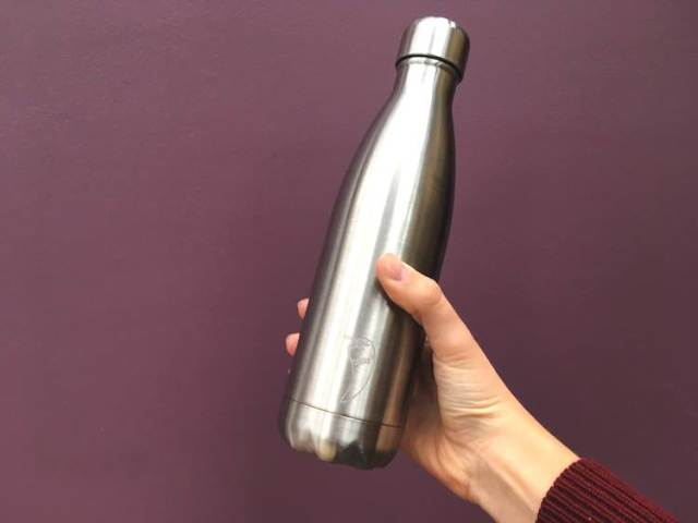 Lorna's re-usable water bottle